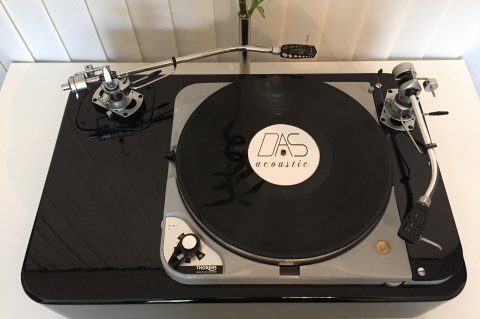 Thorens TD124 TWO TONEARM VERSION